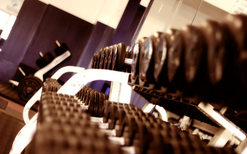 L'entrainement en salle de sport