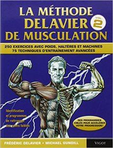 La couverture de la Méthode Delavier de musculation volume 2